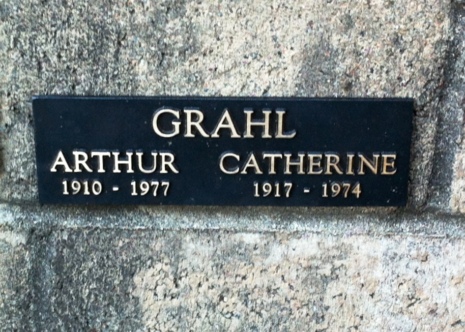 Arthur and Catherine GRAHL