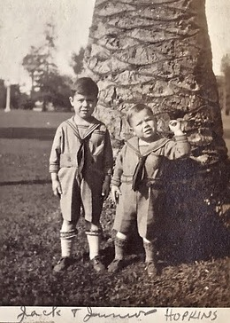 Jack and Floyd HOPKINS, ages 4 and 2